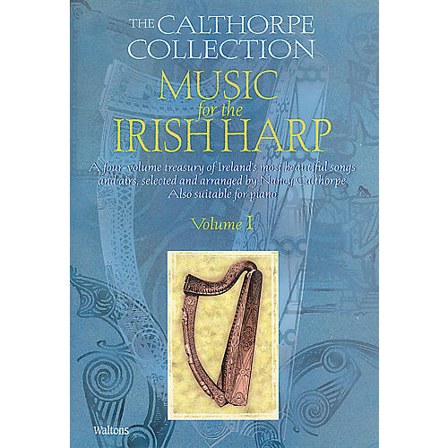 Waltons Music for the Irish Harp - Volume 1 Waltons Irish Music Books Series Softcover Written by Nancy Calthorpe thumbnail