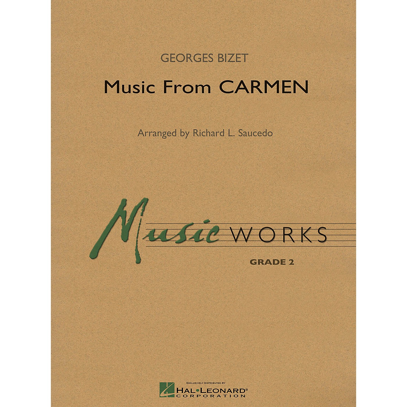 Hal Leonard Music from Carmen Concert Band Level 2 Arranged by Richard Saucedo thumbnail