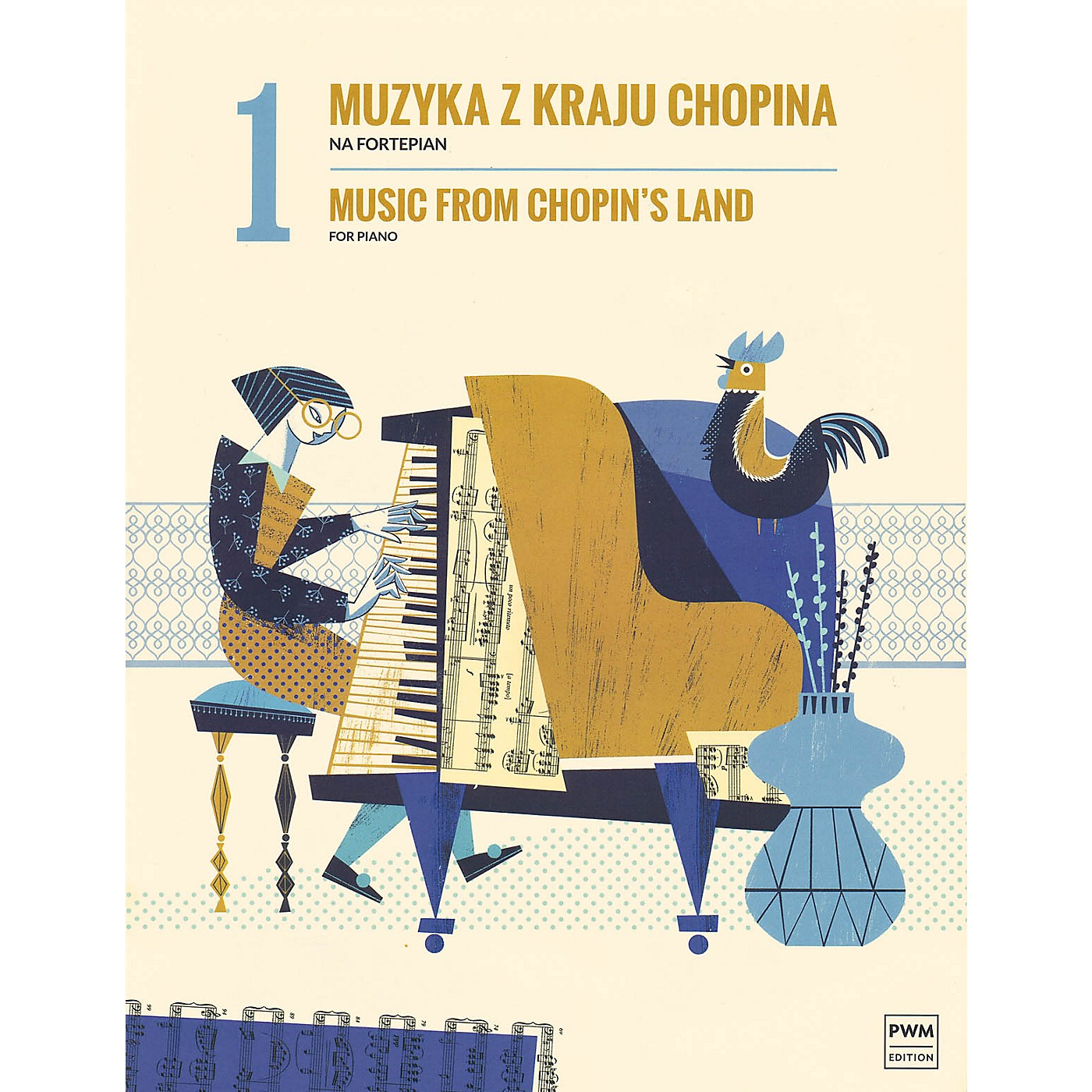 PWM Music from Chopin's Land (Volume 1) PWM Series Softcover thumbnail