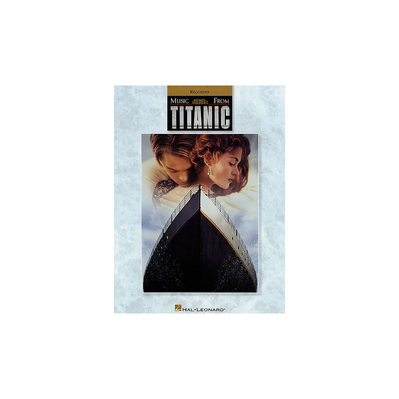 Hal Leonard Music from Titanic for Recorder Instrumental Folio Series Softcover thumbnail