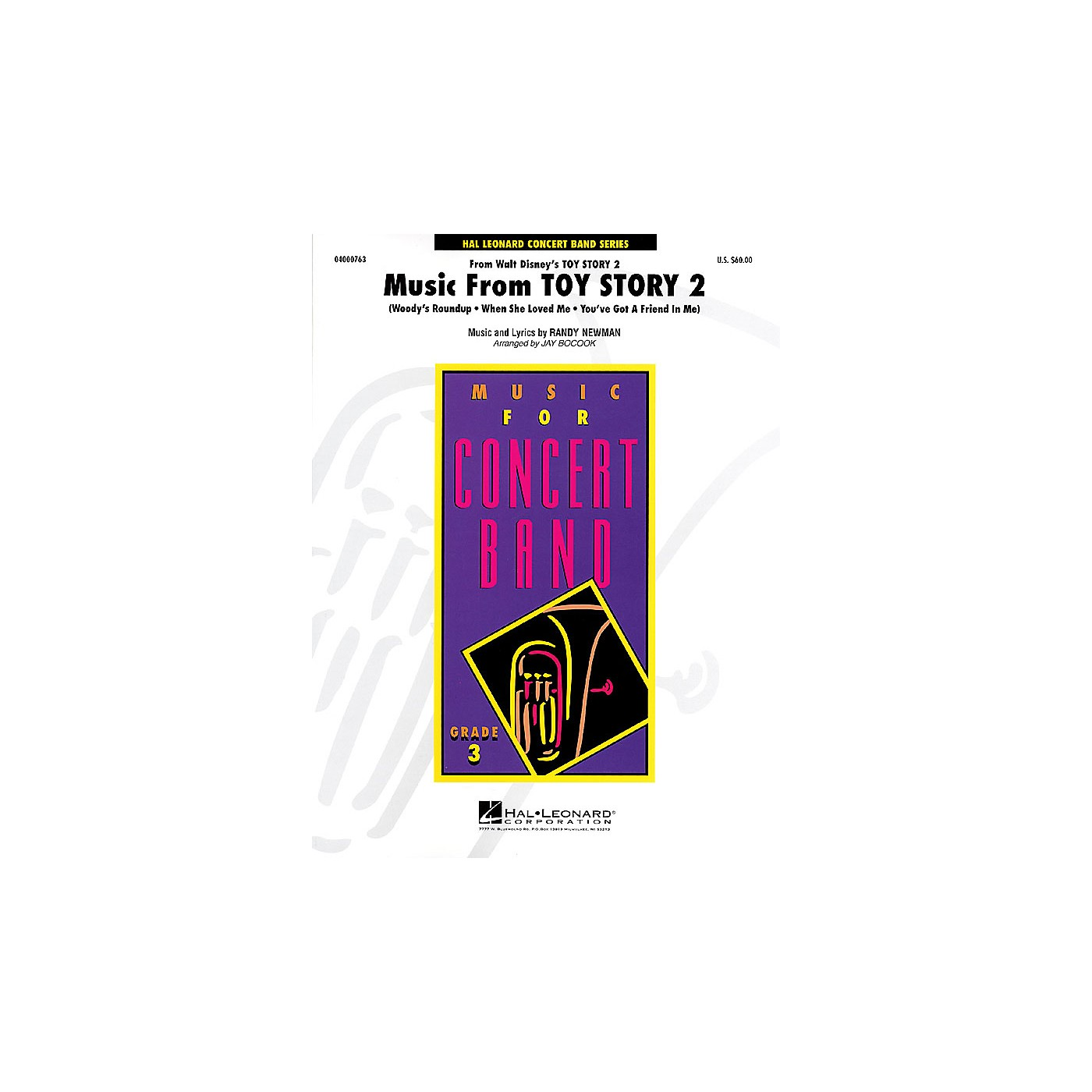 Hal Leonard Music from Toy Story 2 - Young Concert Band Level 3 by Jay Bocook thumbnail