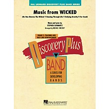 Hal Leonard Music from Wicked - Discovery Plus Concert Band Series Level 2 arranged by Michael Sweeney