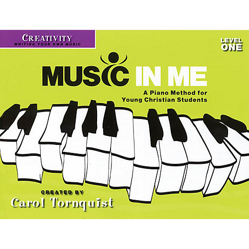 Word Music Music in Me - A Piano Method for Young Christian Students Sacred Folio by Carol Tornquist (Early Elem) thumbnail