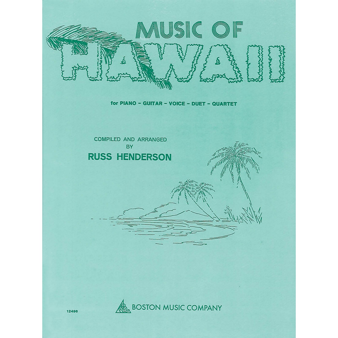 Boston Music Music of Hawaii Music Sales America Series Softcover thumbnail
