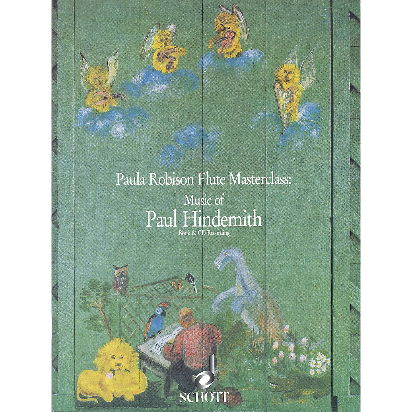 Schott Music of Paul Hindemith (Paula Robison Flute Masterclass) Schott Series Softcover with CD thumbnail