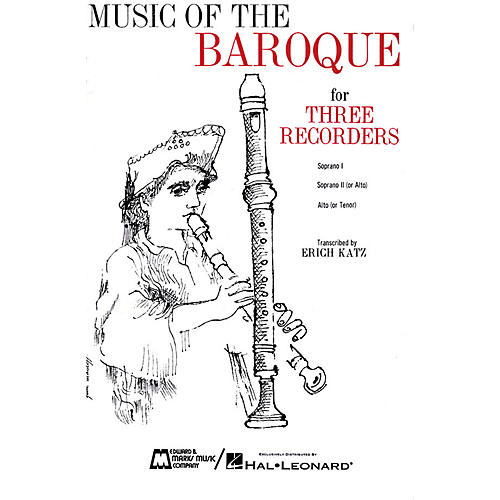 Edward B. Marks Music Company Music of the Baroque (Score & Parts) Recorder Ensemble Series by Various thumbnail