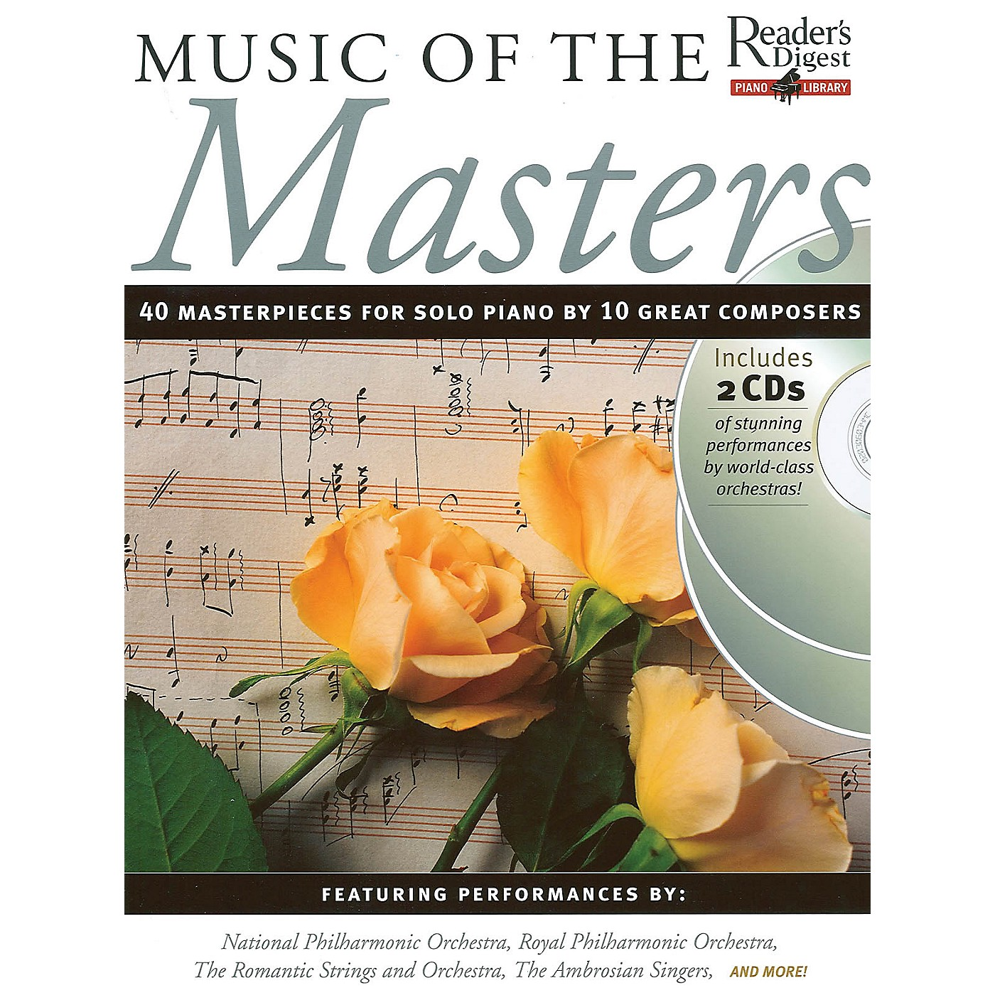 Music Sales Music of the Masters Music Sales America Series Softcover with CD thumbnail