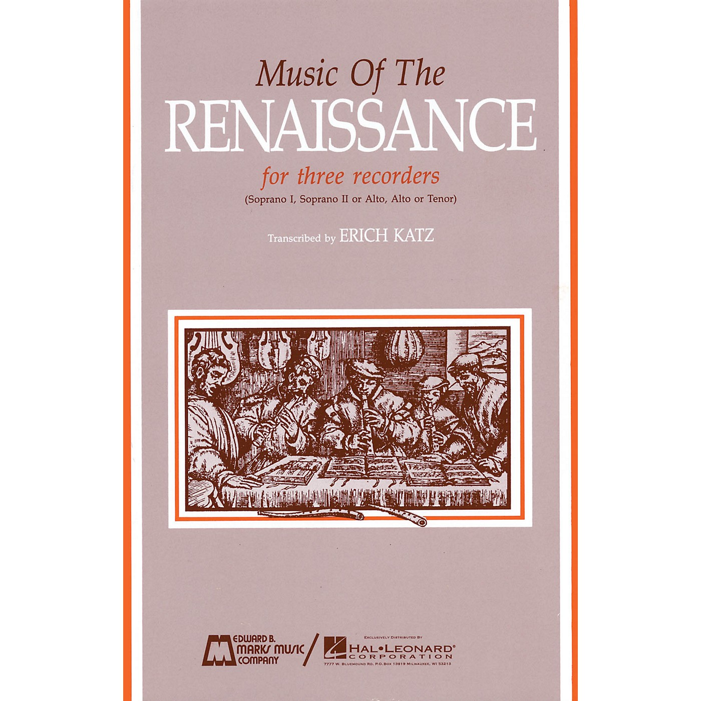 Edward B. Marks Music Company Music of the Renaissance (Score & Parts) Recorder Ensemble Series by Various thumbnail