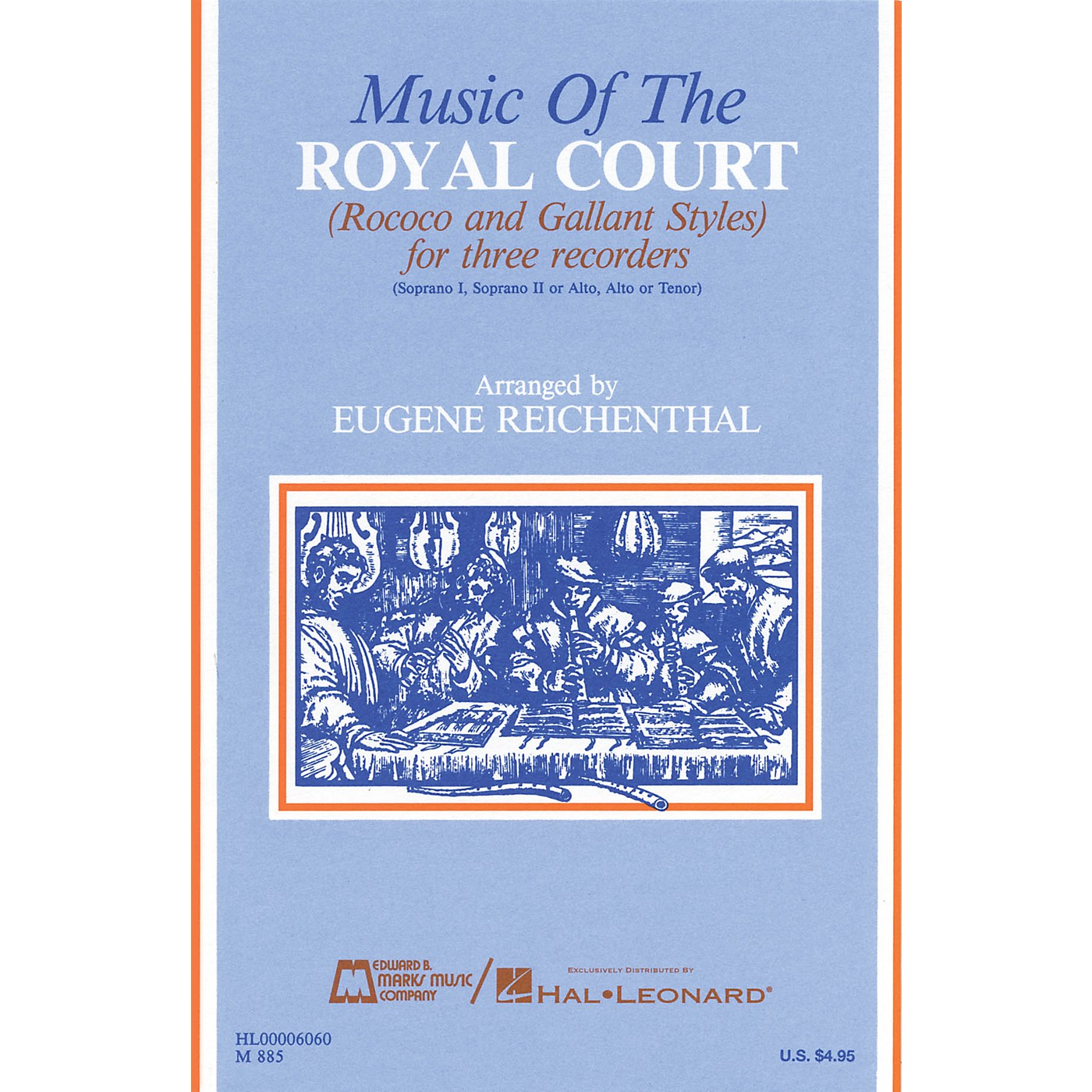 Edward B. Marks Music Company Music of the Royal Court (Score) Recorder Ensemble Series by Various thumbnail