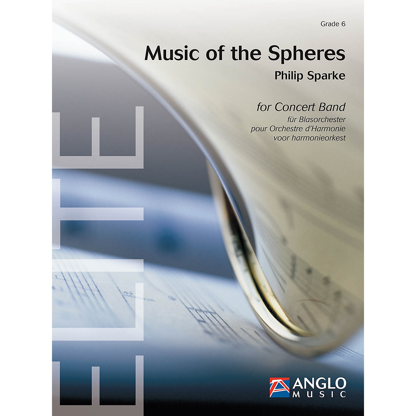 Anglo Music Music of the Spheres (Grade 6 - Score Only) Concert Band Level 6 Composed by Philip Sparke thumbnail
