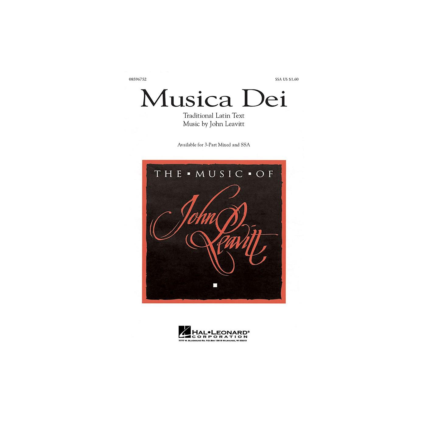 Hal Leonard Musica Dei SSA thumbnail