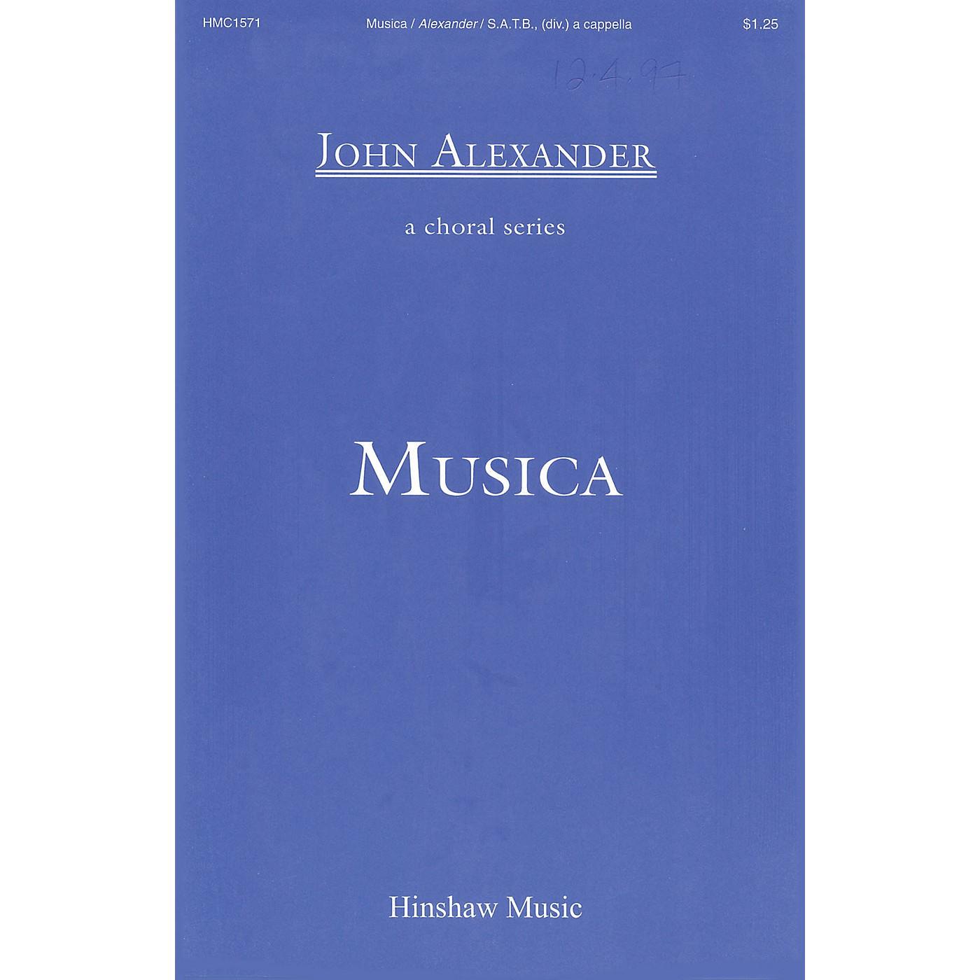 Hinshaw Music Musica SSAATTBB composed by John Alexander thumbnail