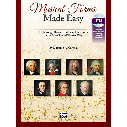 Alfred Musical Forms Made Easy A Thorough Demonstration of Each Form in the Most Time Effective Way Bk & CD thumbnail
