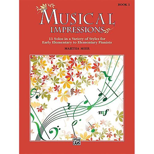Alfred Musical Impressions, Book 1 Early Elementary / Elementary thumbnail