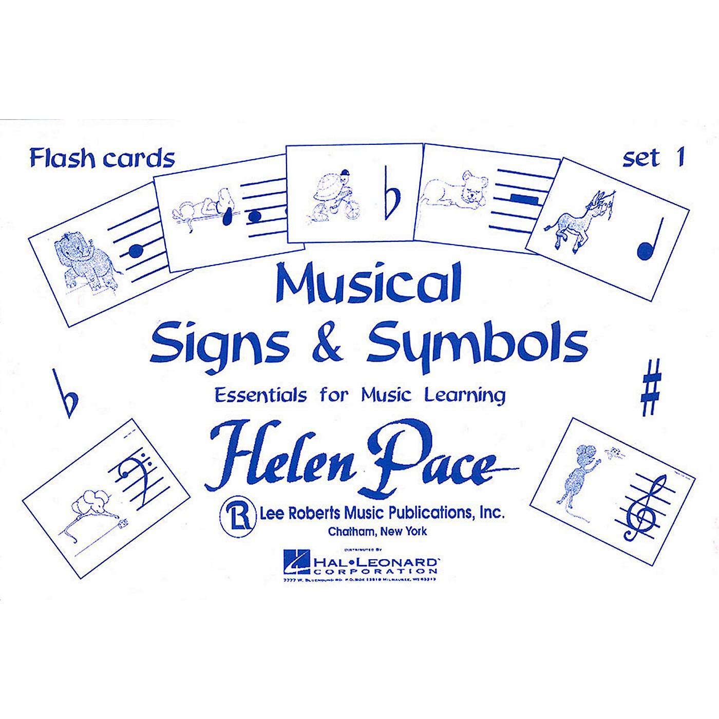 Hal Leonard Musical Signs And Symbols Set I 24 Cards 48 Sides Flash Cards Moppet thumbnail