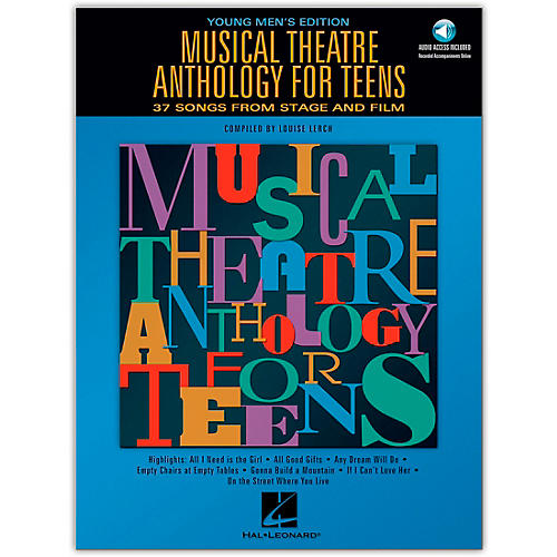 Hal Leonard Musical Theatre Anthology for Teens - Young Men's Edition (Book/Online Audio) thumbnail