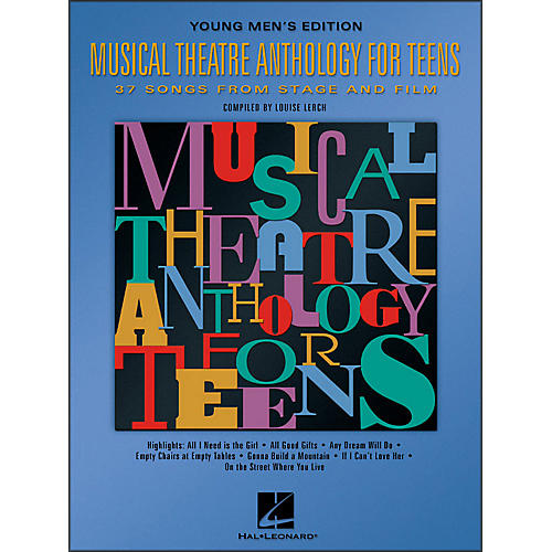 Hal Leonard Musical Theatre Anthology for Teens - Young Men's Edition thumbnail