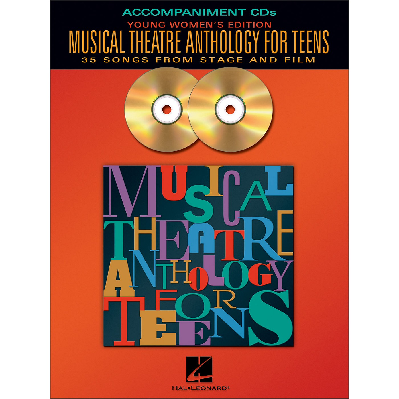 Hal Leonard Musical Theatre Anthology for Teens - Young Women's Edition  2CD Accompaniment thumbnail