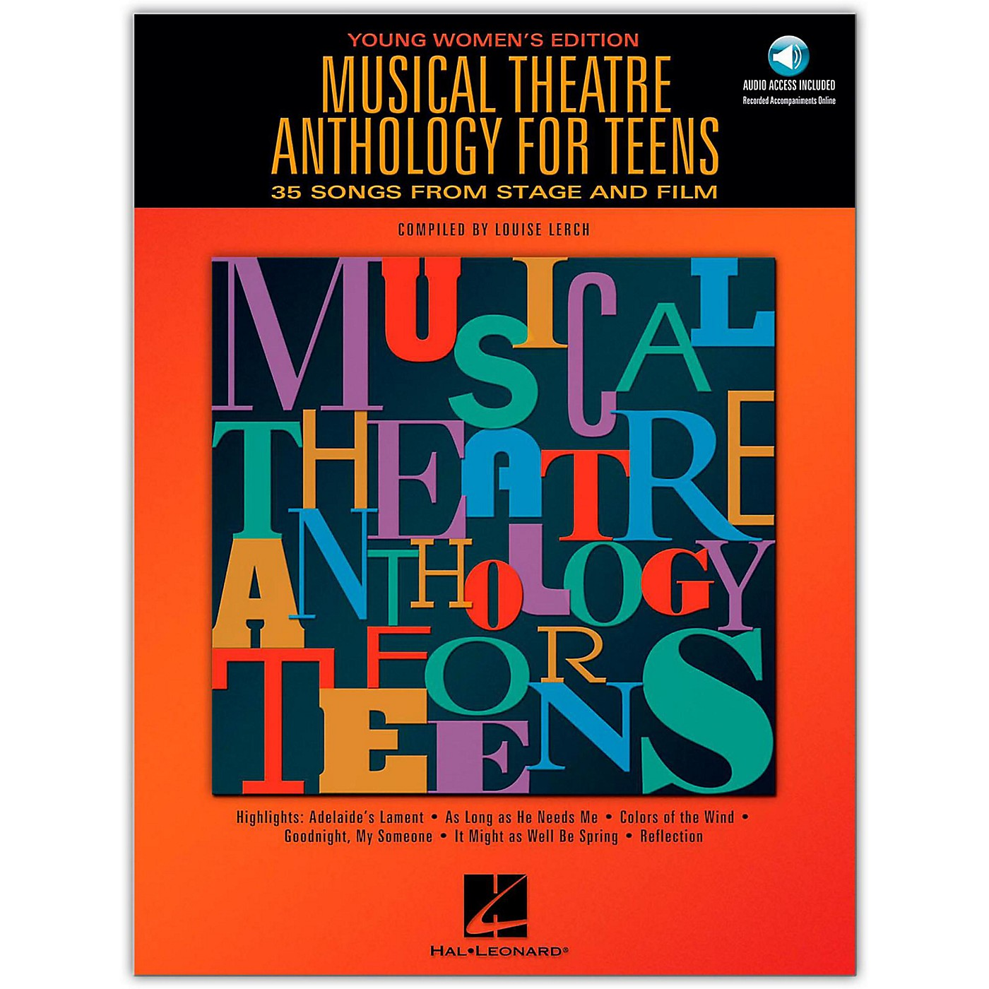 Hal Leonard Musical Theatre Anthology for Teens - Young Women's Edition (Book/Online Audio) thumbnail