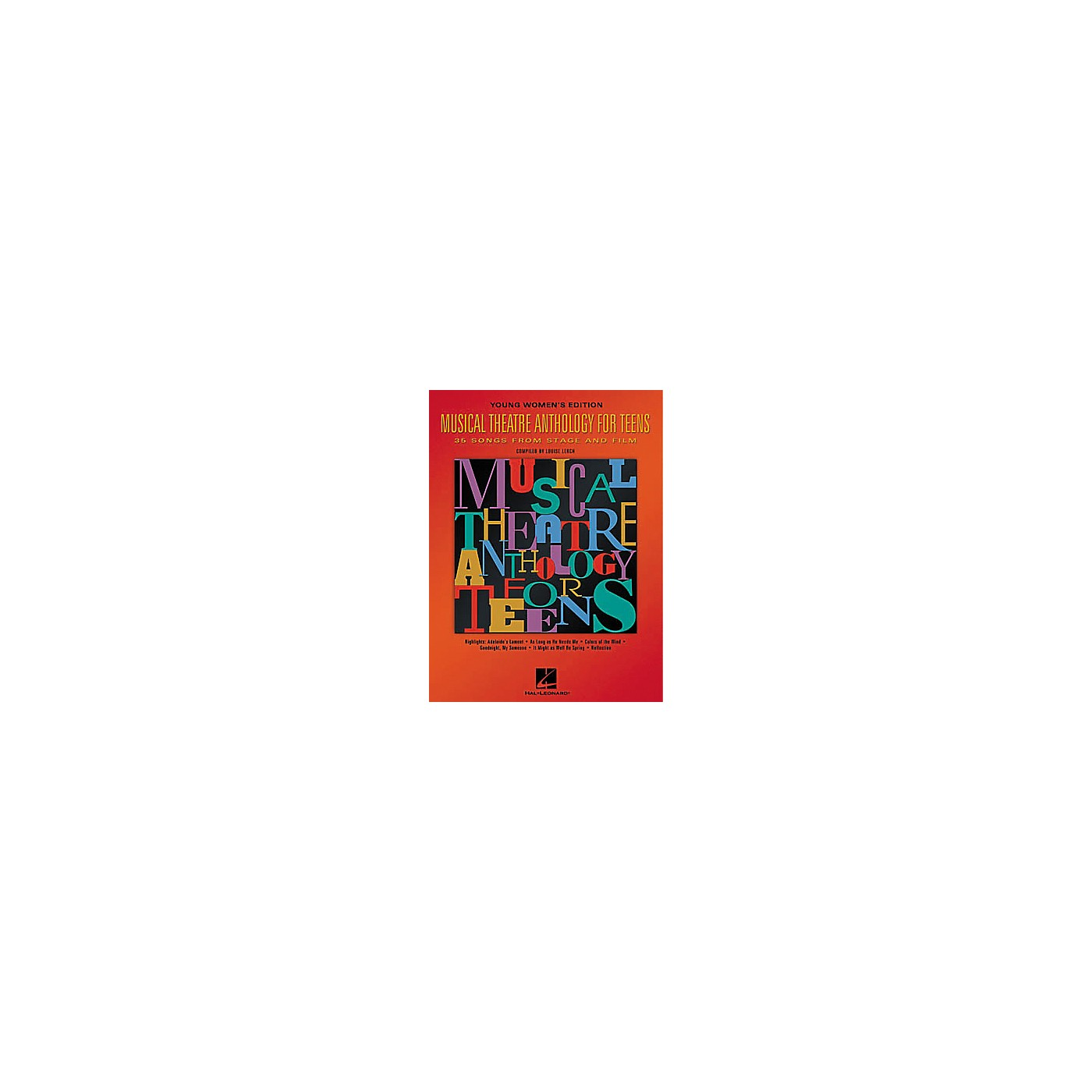 Hal Leonard Musical Theatre Anthology for Teens Book thumbnail