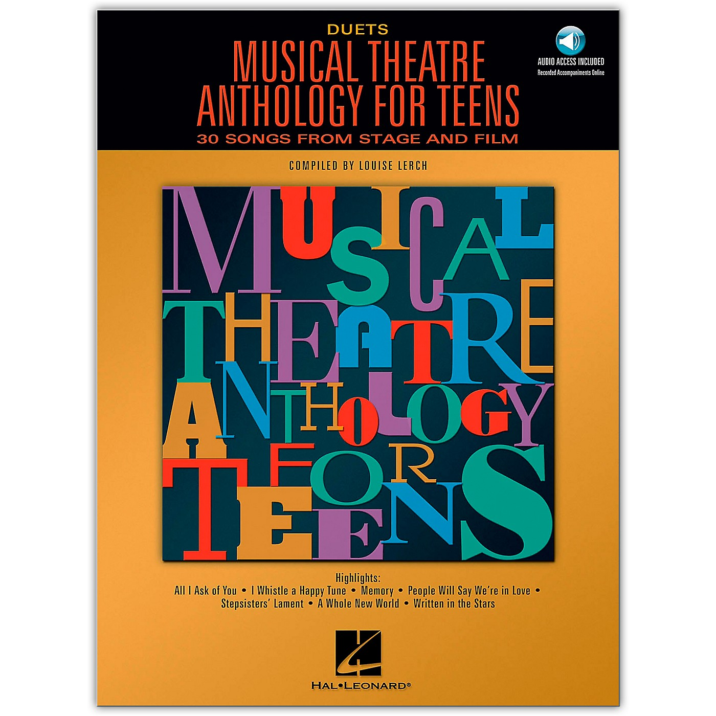 Hal Leonard Musical Theatre Anthology for Teens for Duets Book/Online Audio thumbnail