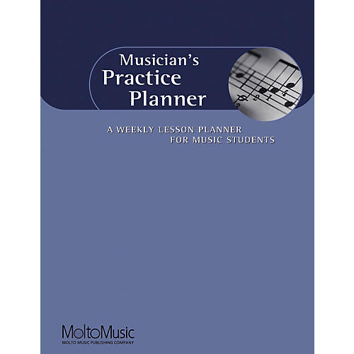 Hal Leonard Musician's Practice Planner-A Weekly Lesson Planner For Music Students Book thumbnail