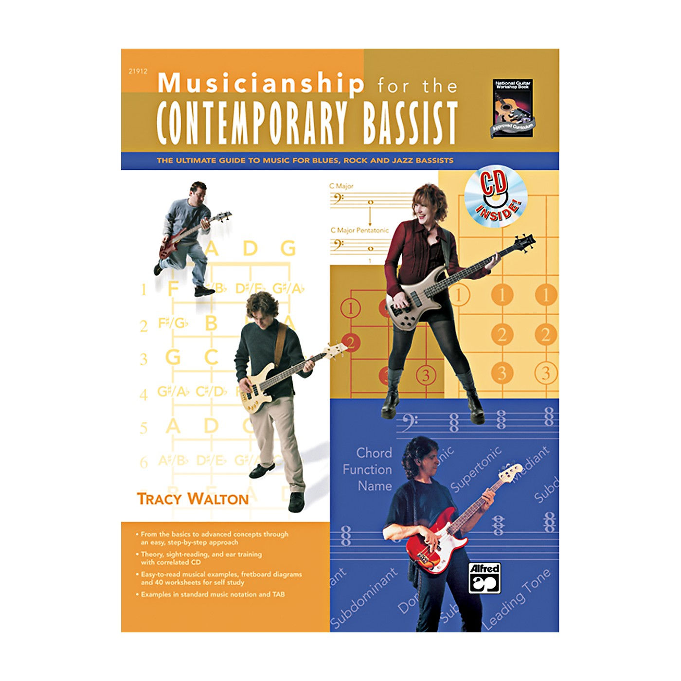 Alfred Musicianship for the Contemporary Bassist Book & CD thumbnail