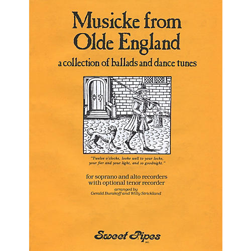Sweet Pipes Musicke From Olde England thumbnail