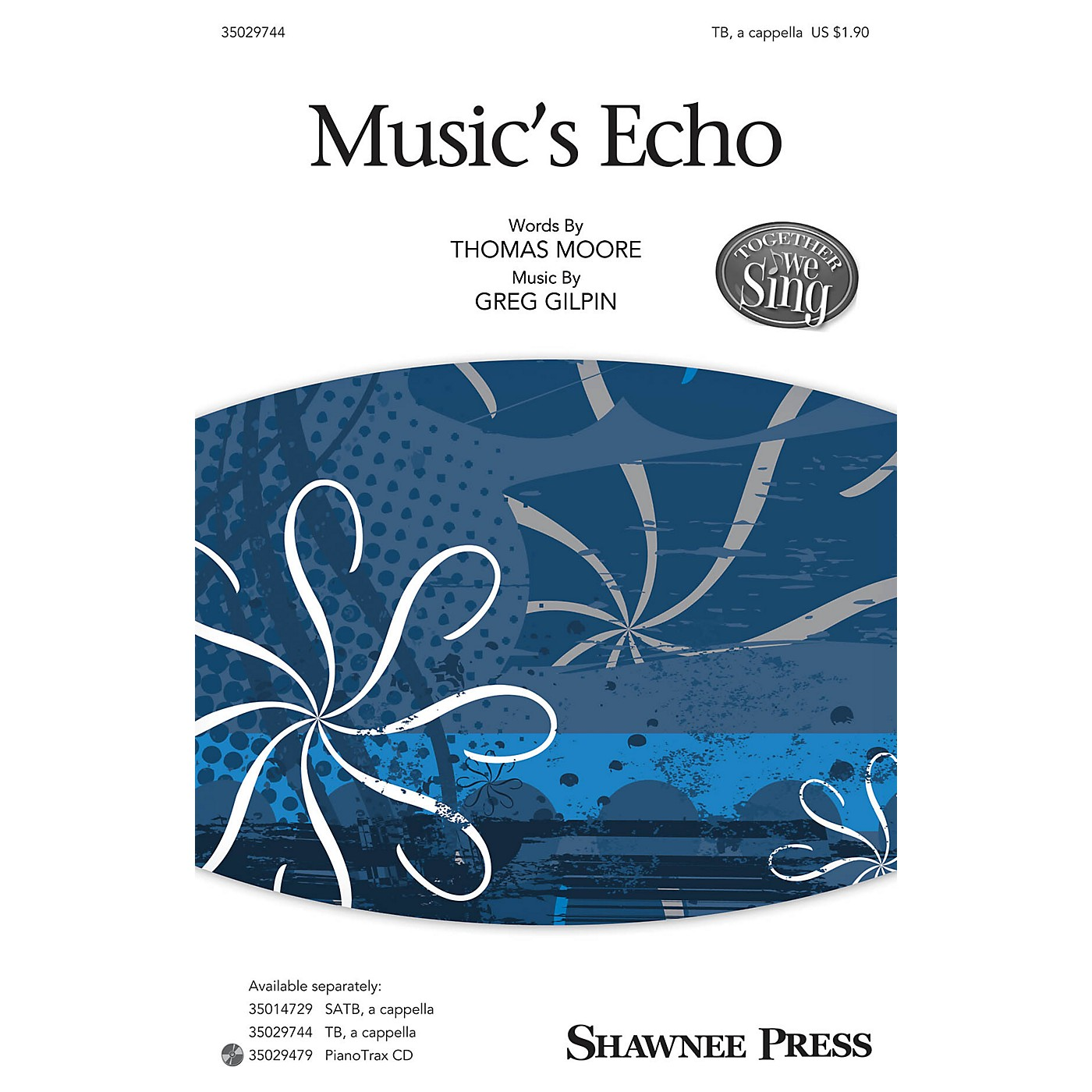 Shawnee Press Music's Echo (Together We Sing Series) TB composed by Greg Gilpin thumbnail