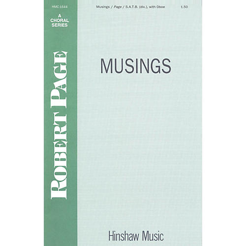 Hinshaw Music Musings SSAATTBB composed by Robert Page thumbnail