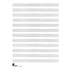 Music Sales Musipack 3 Ring Filler No. 1: 12-stave (Passantino Manuscript Paper) Music Sales America Series