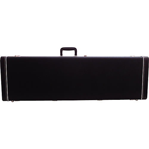 Fender Mustang Bass Guitar Case Black thumbnail