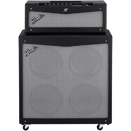 Fender Mustang V HD 150W Guitar Amp Head and 4x12 Guitar Speaker Cabinet thumbnail