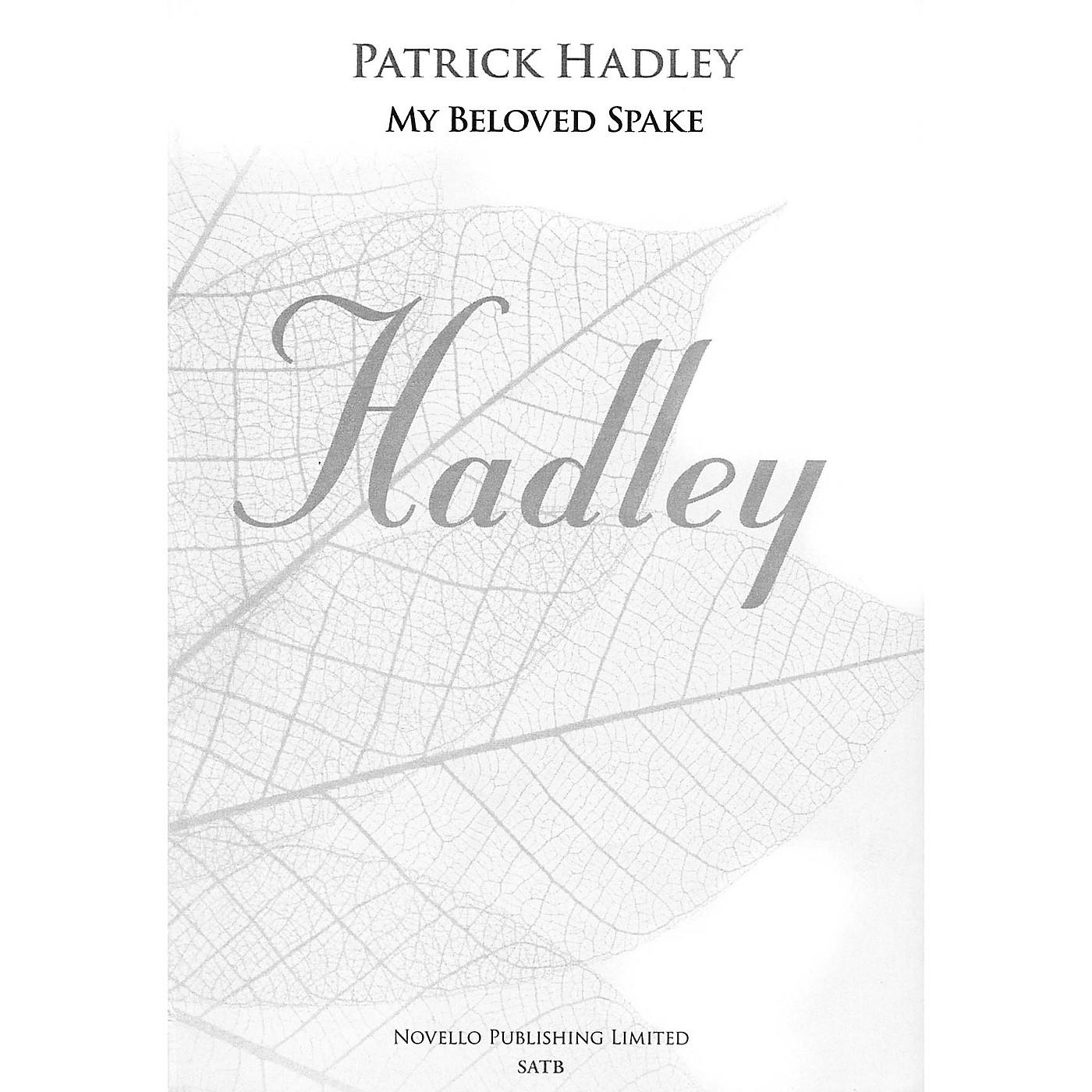 Novello My Beloved Spake SATB, Organ Composed by Patrick Hadley thumbnail