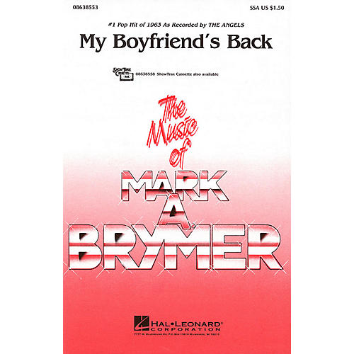 Hal Leonard My Boyfriend's Back SSA by The Angels arranged by Mark Brymer thumbnail