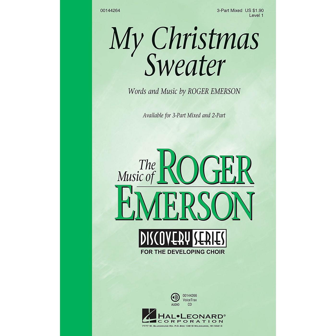 Hal Leonard My Christmas Sweater (Discovery Level 1) 3-Part Mixed composed by Roger Emerson thumbnail