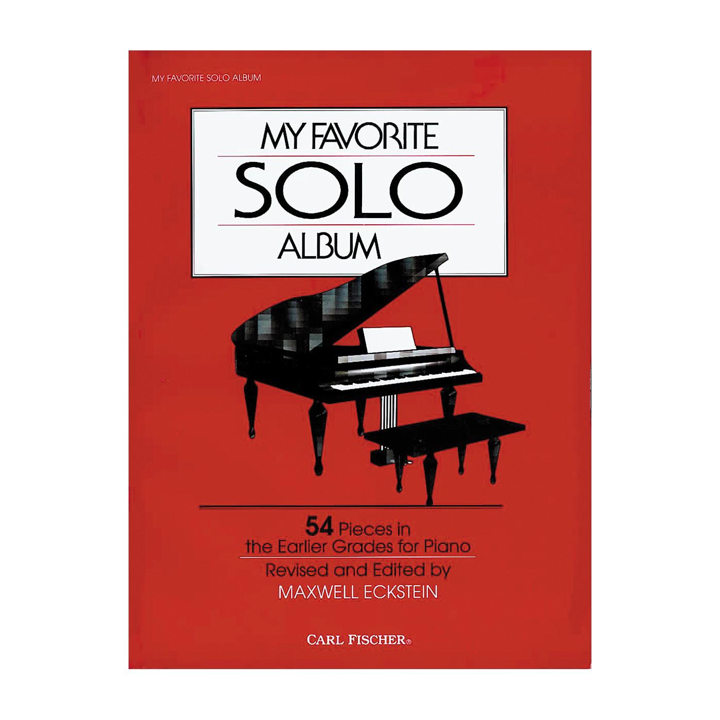 Carl Fischer My Favorite Solo Album Book thumbnail
