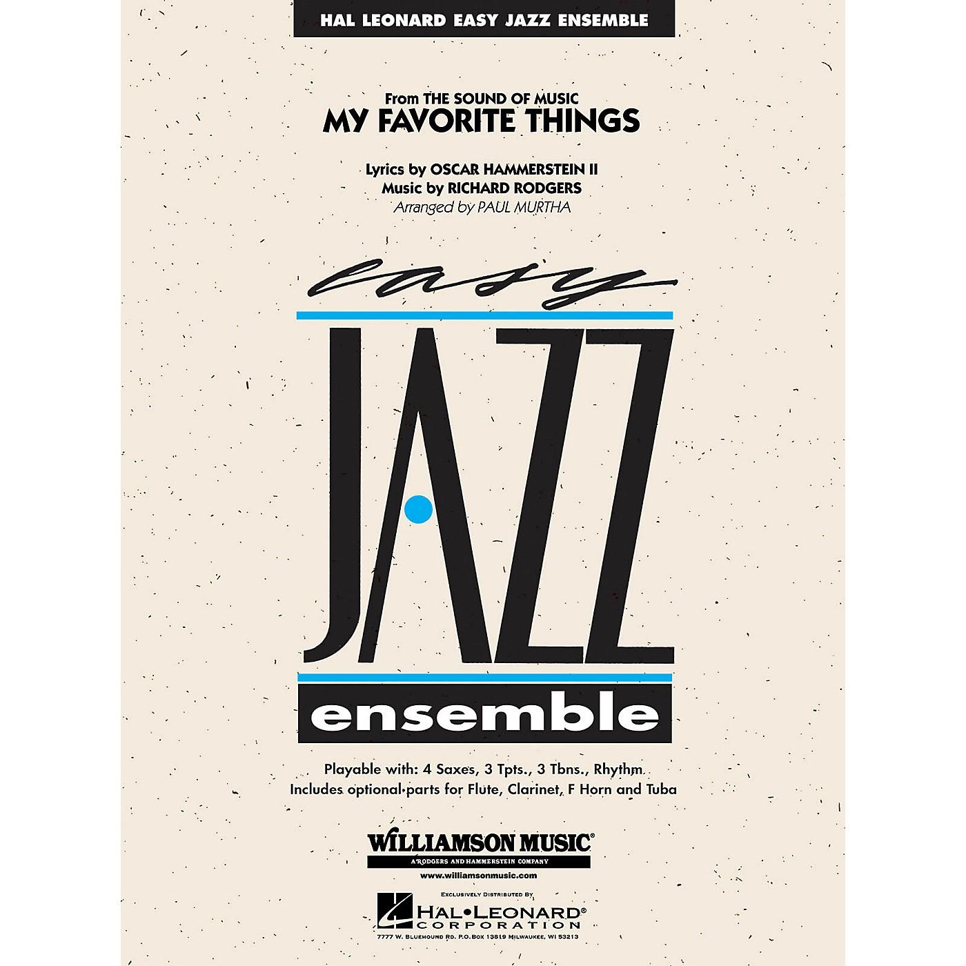 Williamson Music My Favorite Things Jazz Band Level 2 Arranged by Paul Murtha thumbnail
