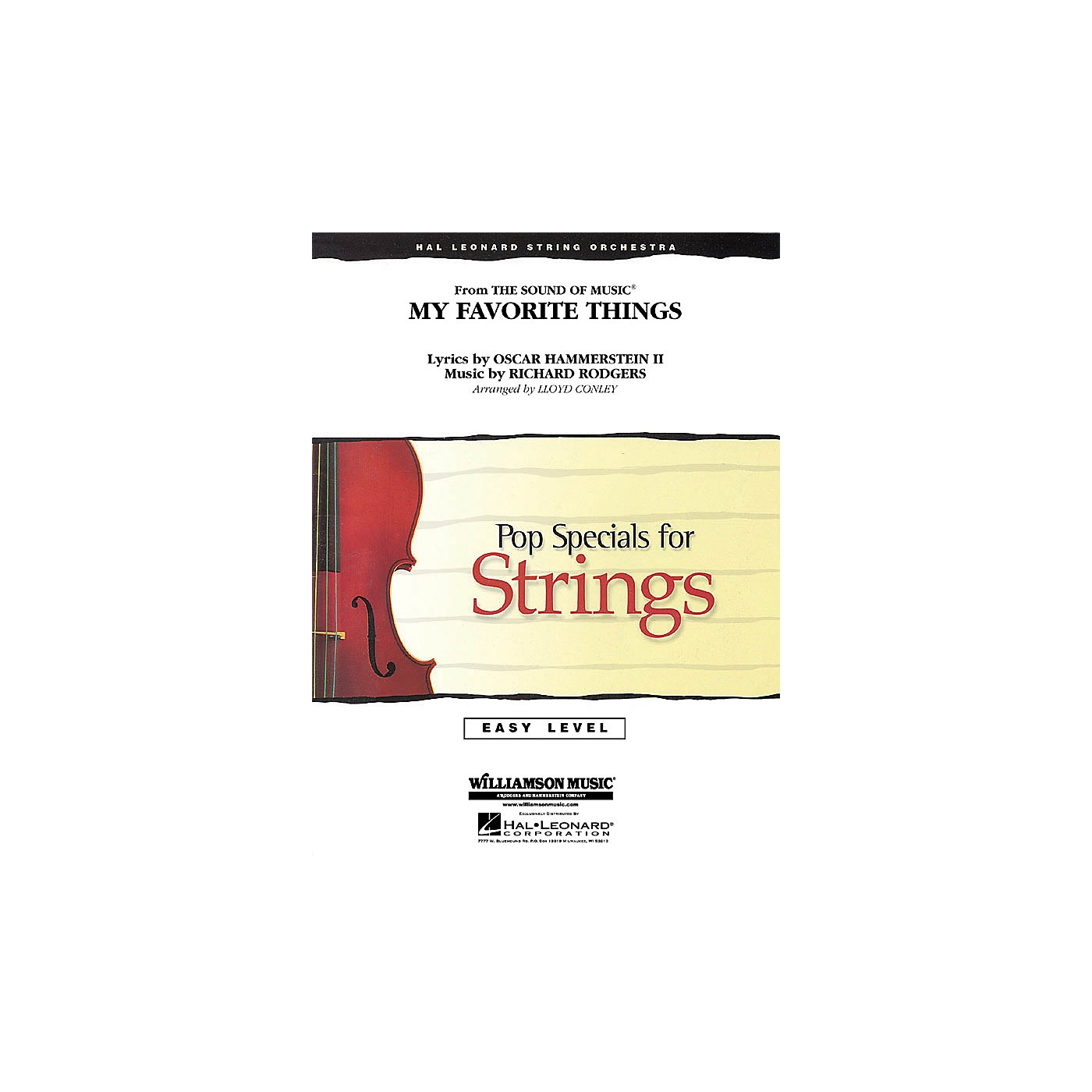 Hal Leonard My Favorite Things (from The Sound of Music) Easy Pop Specials For Strings Series by Lloyd Conley thumbnail