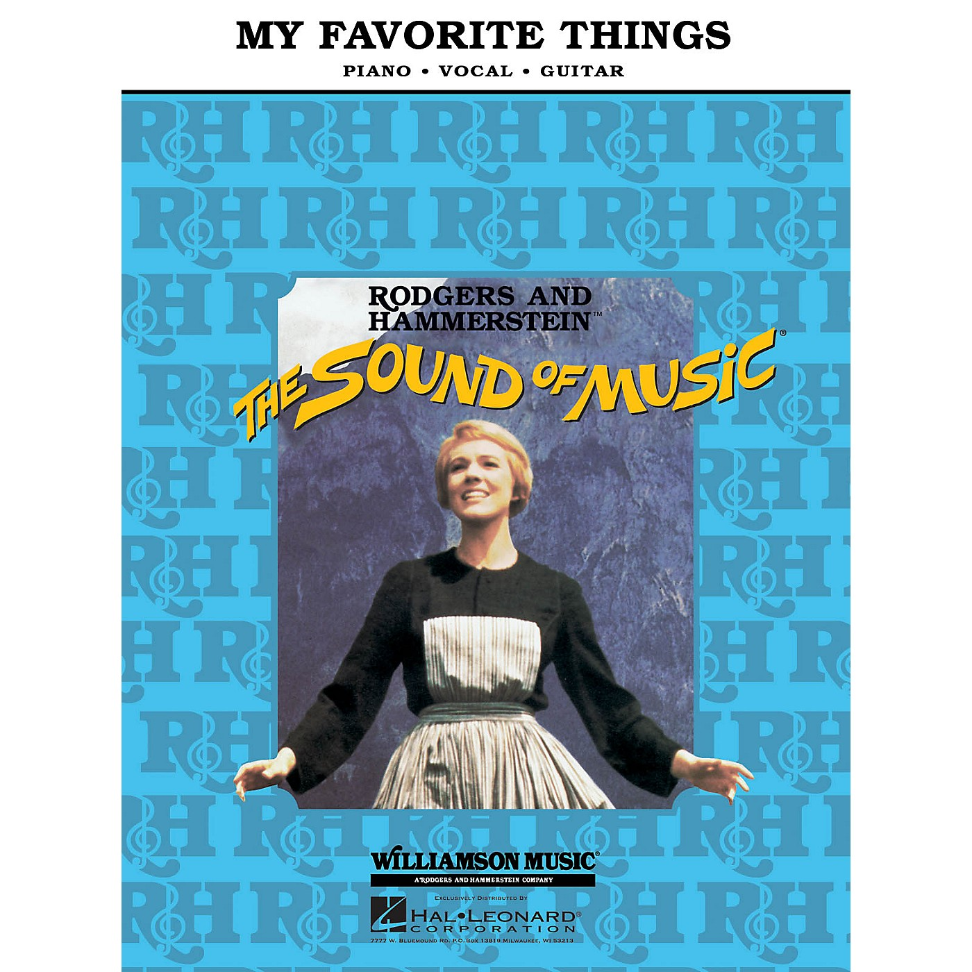 Hal Leonard My Favorite Things (from The Sound of Music) Piano Vocal Series thumbnail