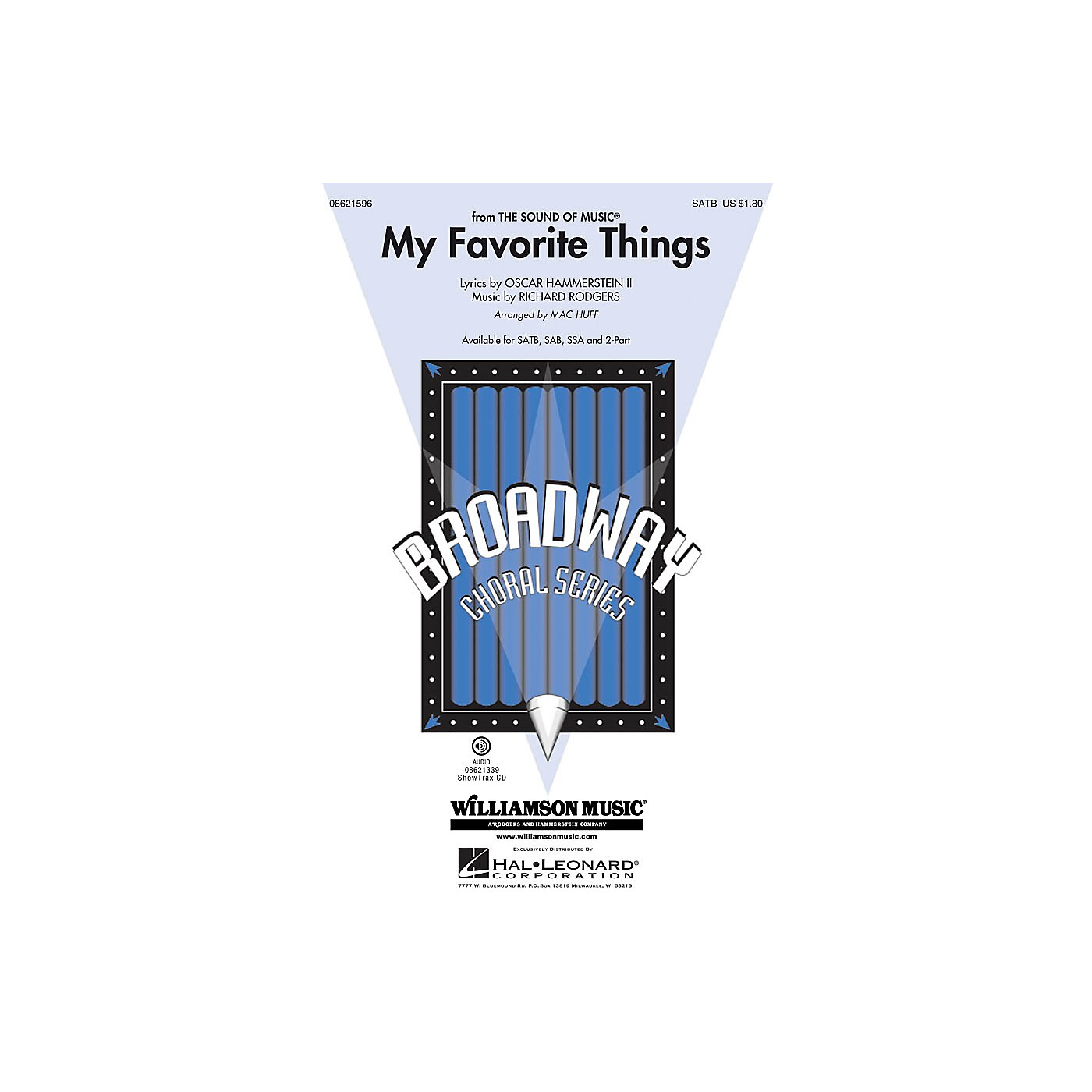 Hal Leonard My Favorite Things (from The Sound of Music) ShowTrax CD Arranged by Mac Huff thumbnail
