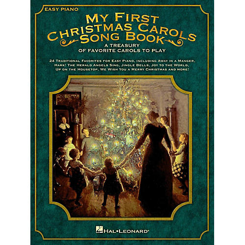 Hal Leonard My First Christmas Carols Songbook - A Treasury of Favorite Carols to Play thumbnail