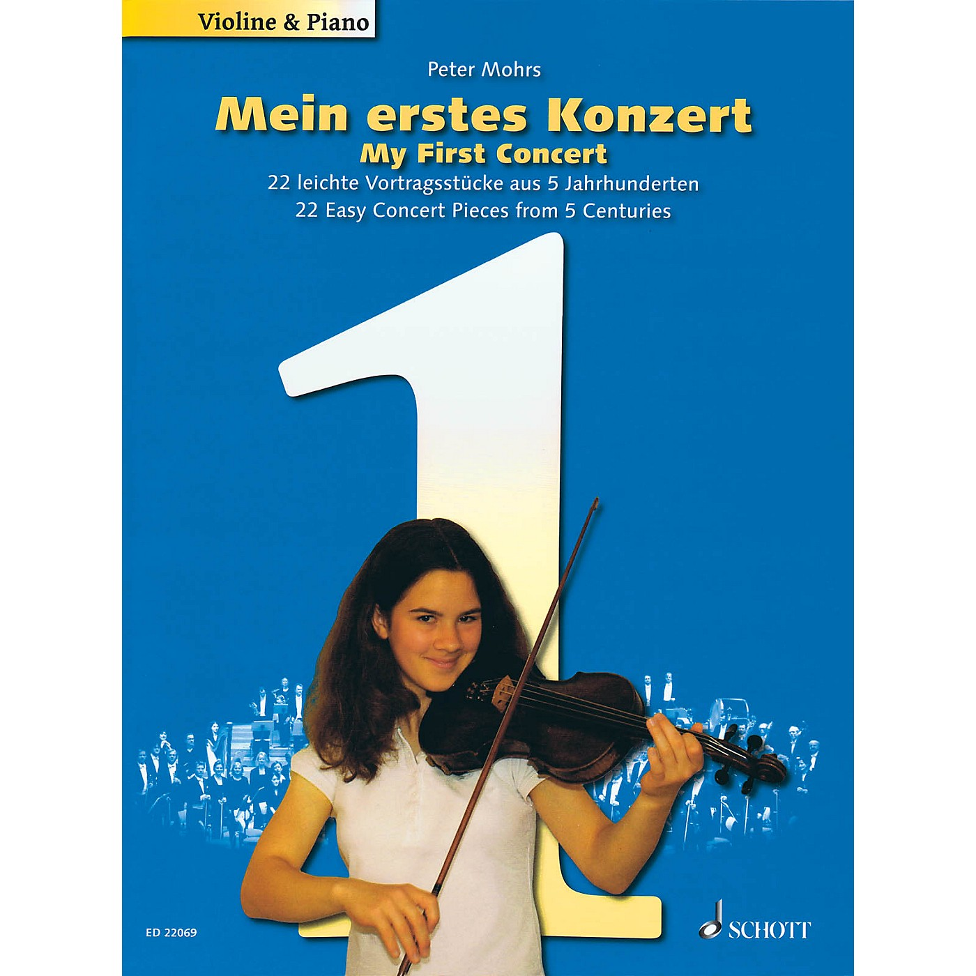 Schott My First Concert - 22 Easy Concert Pieces from 5 Centuries String Solo Series Softcover thumbnail