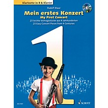 Schott My First Concert - 23 Easy Concert Pieces from 4 Centuries Woodwind Solo Series BK/CD