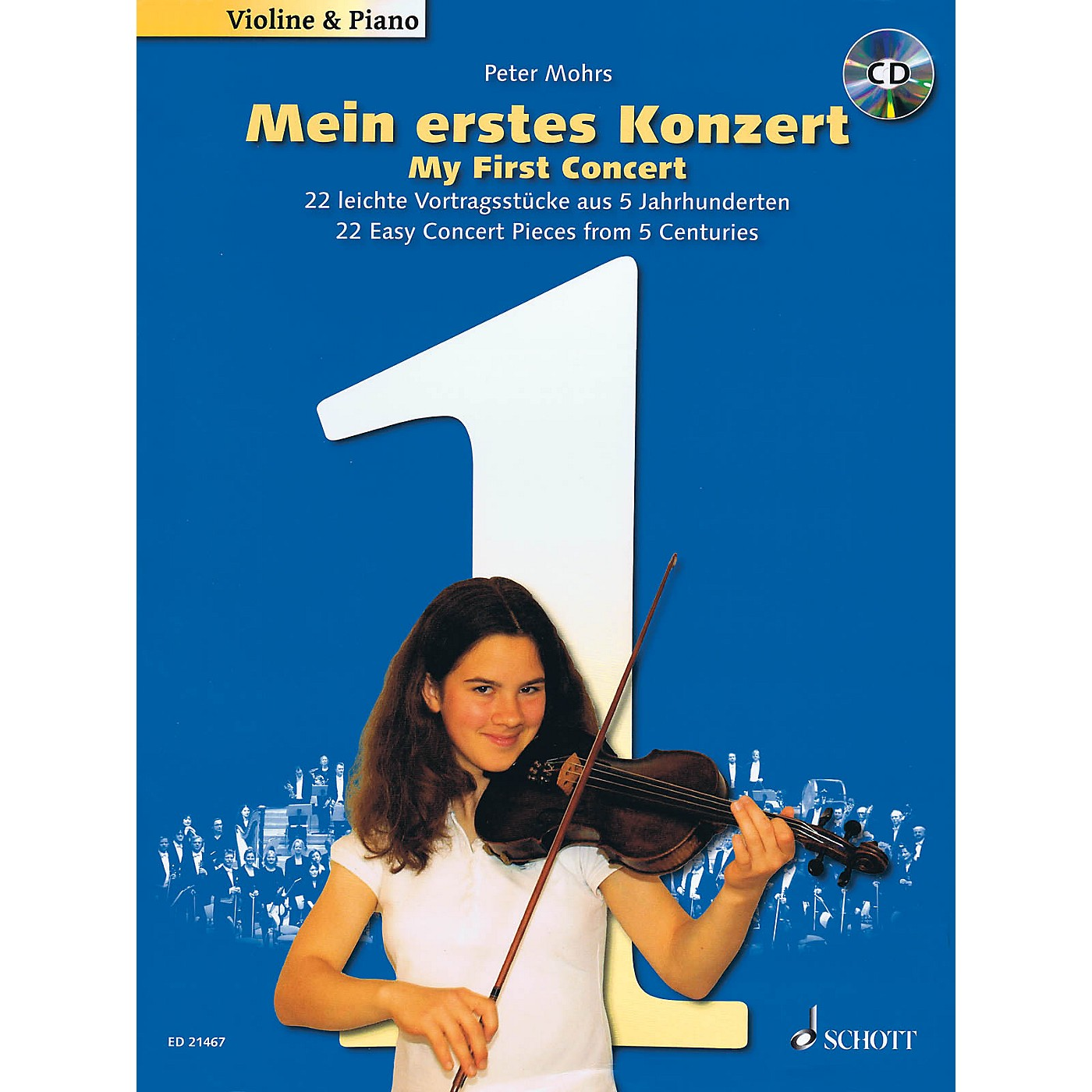 Schott My First Concert - for Violin and Piano String Series Softcover with CD thumbnail