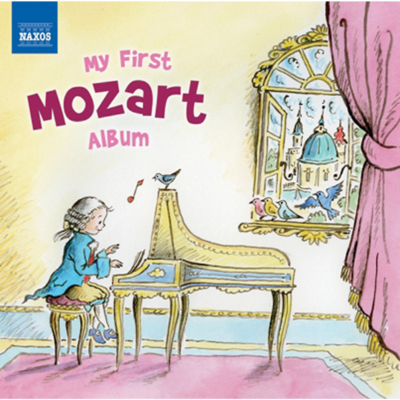 Alfred My First Mozart Album CD thumbnail