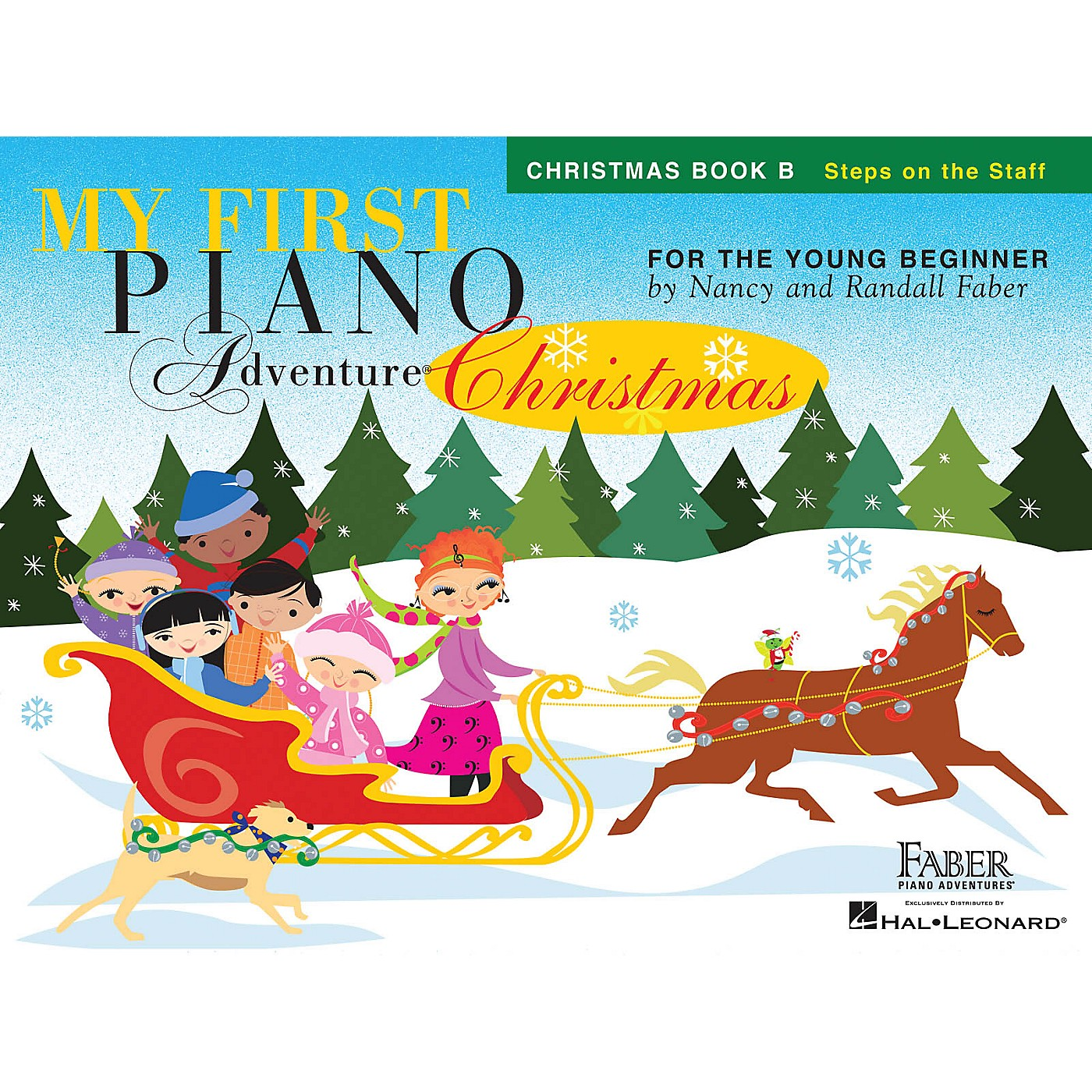 Faber Piano Adventures My First Piano Adventure Christmas - Book B Faber Piano Adventures by Nancy Faber (Level Early Elem) thumbnail