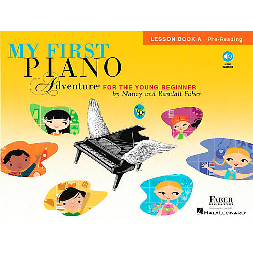 Faber Piano Adventures My First Piano Adventure For The Young Beginner Lesson Bk A Pre-reading With Book/CD thumbnail