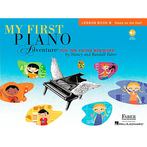 Faber Piano Adventures My First Piano Adventure Lesson Book B with CD thumbnail