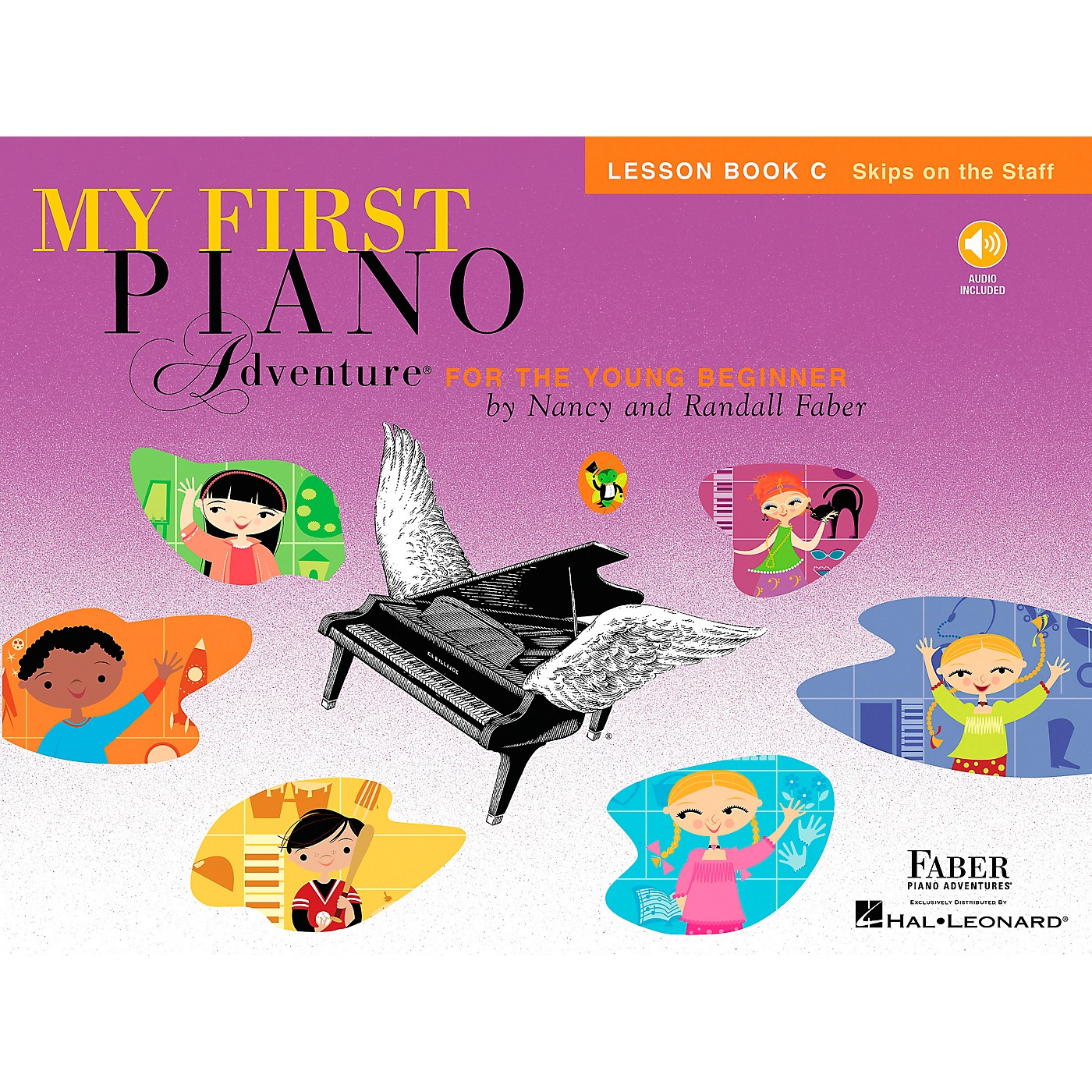 Faber Piano Adventures My First Piano Adventure Lesson Book C (Skips On The Staff) - Faber Piano thumbnail
